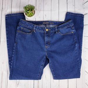 Michael Kors Blue Skinny Jeans EUC sz 6